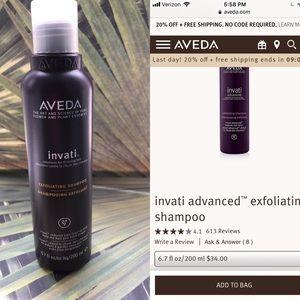 Aveda invati hair loss exfoliating shampoo